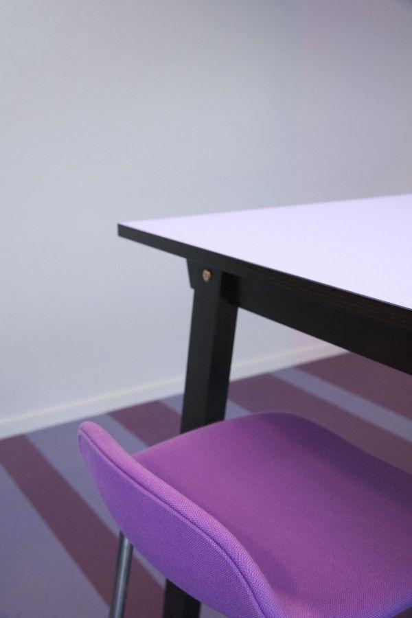 Normann Copenhagen Slice Linoleum Bar statafel 200x90
