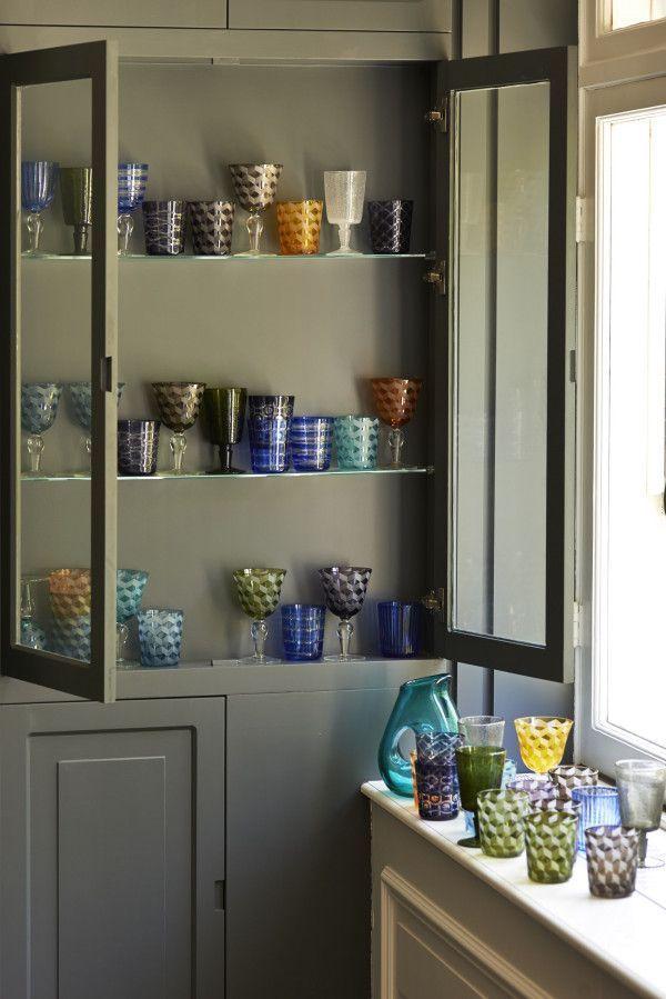 Pols Potten Multicolour Blocks glas 6 stuks