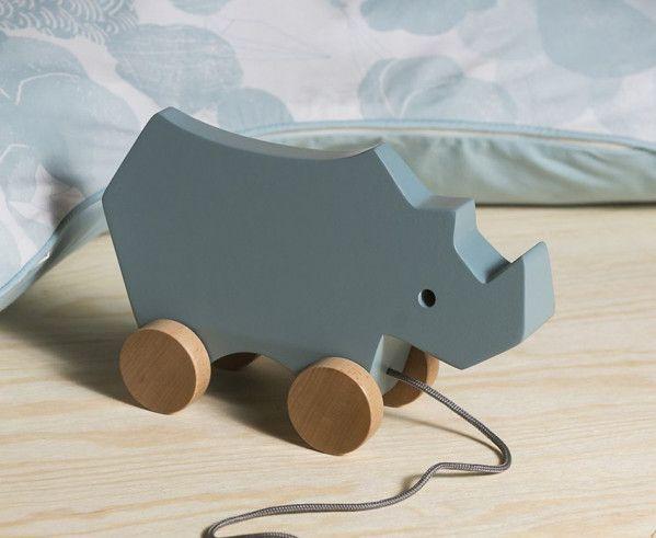 Sebra Trek neushoorn speelgoed