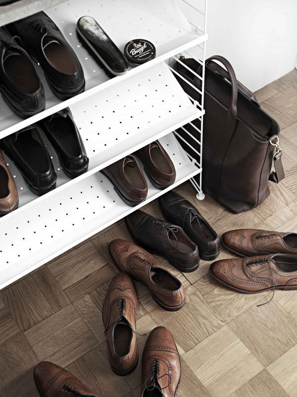 String Shoe shelf metal 78x30 1-pack