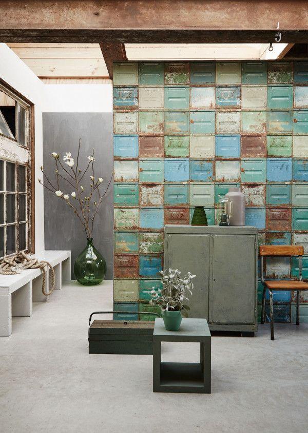 Studio Ditte Container behang gemengd