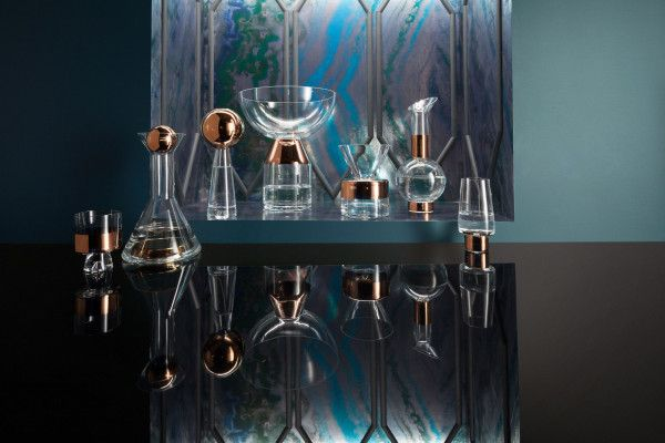 Tom Dixon Tank High Ball glas set van 2