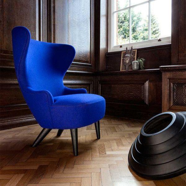 Tom Dixon Wingback Micro Oak fauteuil