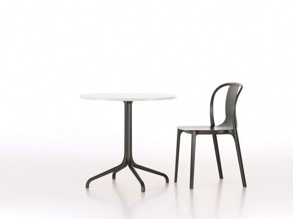 Vitra Belleville Chair Wood stoel