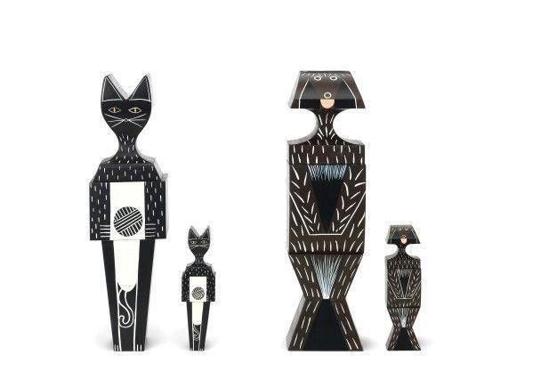 Vitra Wooden Dolls Cat large kunst