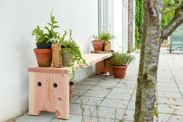 Weltevree Forestry tuinbank 160x40