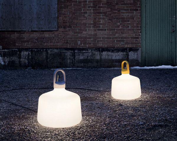 Zero Bottle vloerlamp fluo