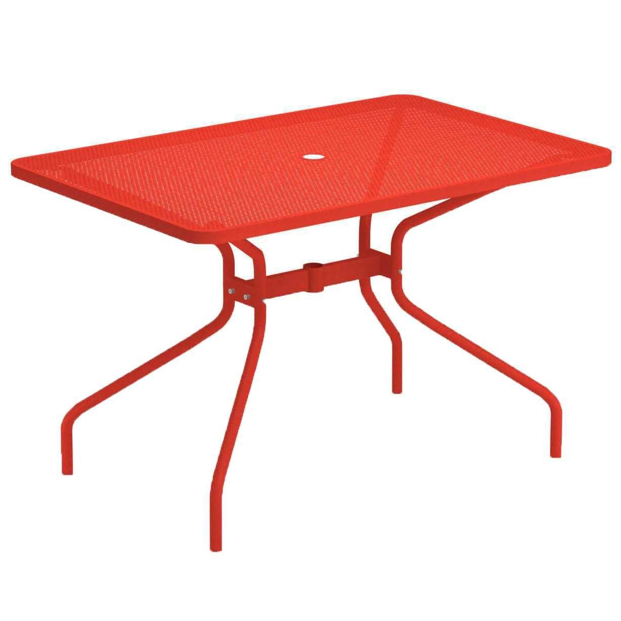 Emu Cambi tuintafel 120×80 Scarlet Red