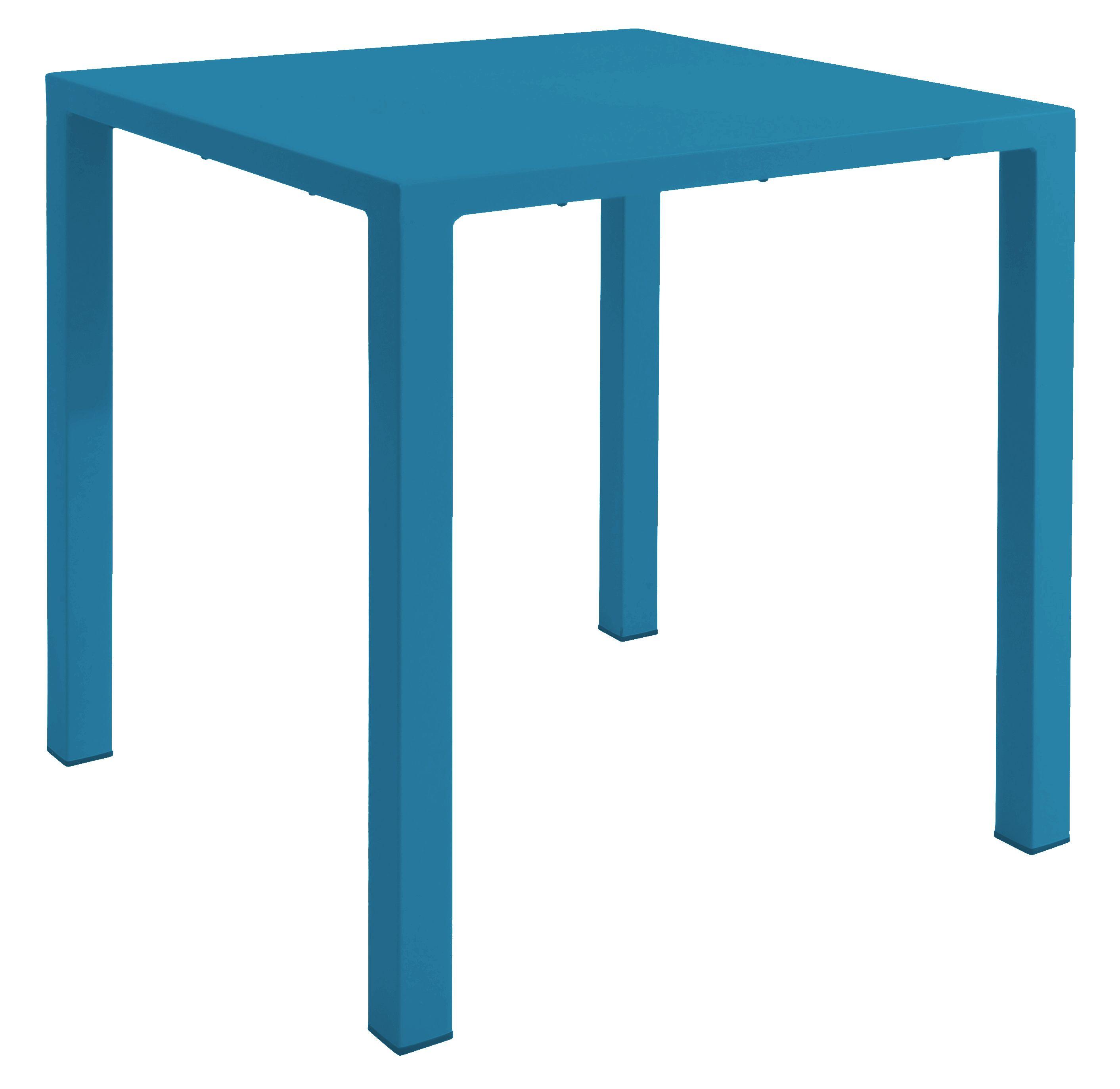 Emu Nova tuintafel 80×80 blauw