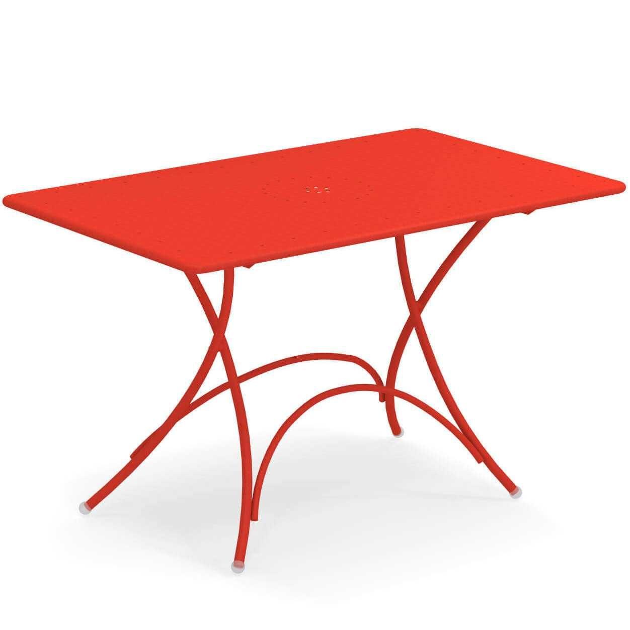 Emu Pigalle tuintafel 120×76 Scarlet Red