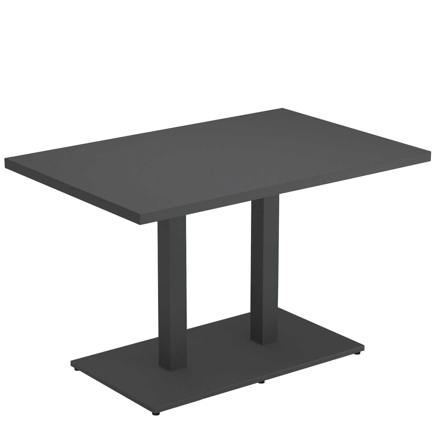 Emu Round tuintafel 120×80 antique iron