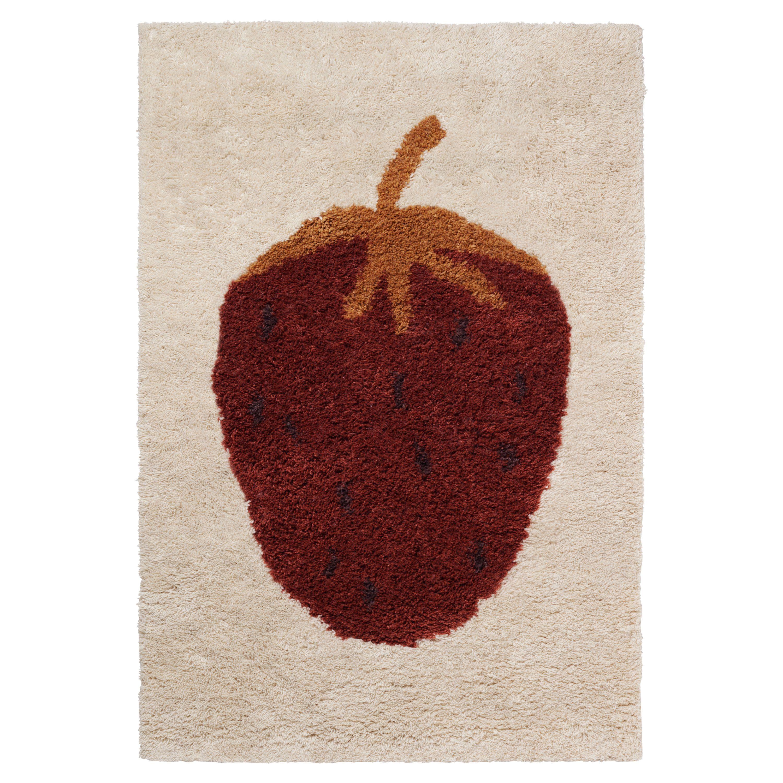 Ferm Living Fruiticana Tufted vloerkleed 180x120 Strawberry