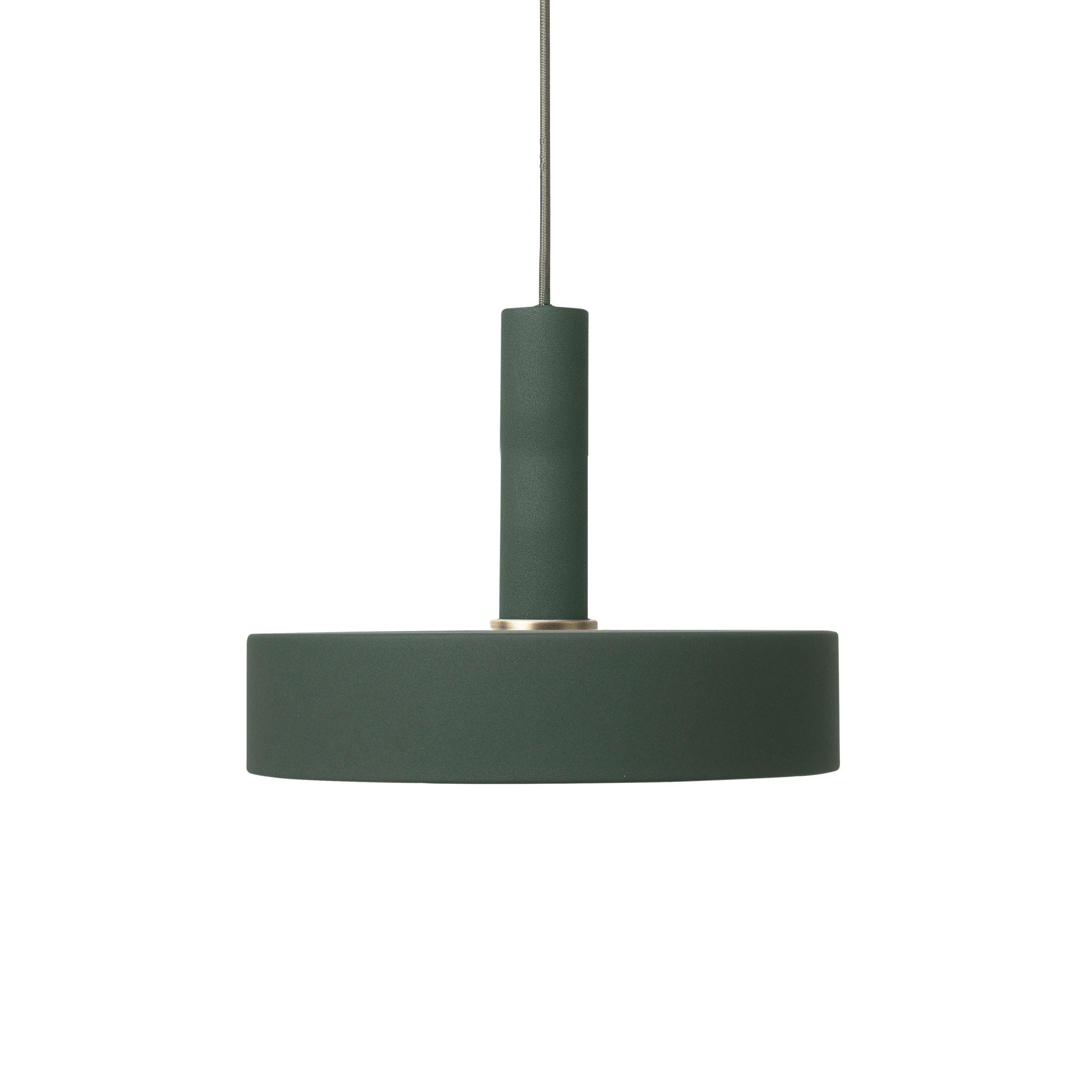 Ferm Living Record Dark Green hanglamp