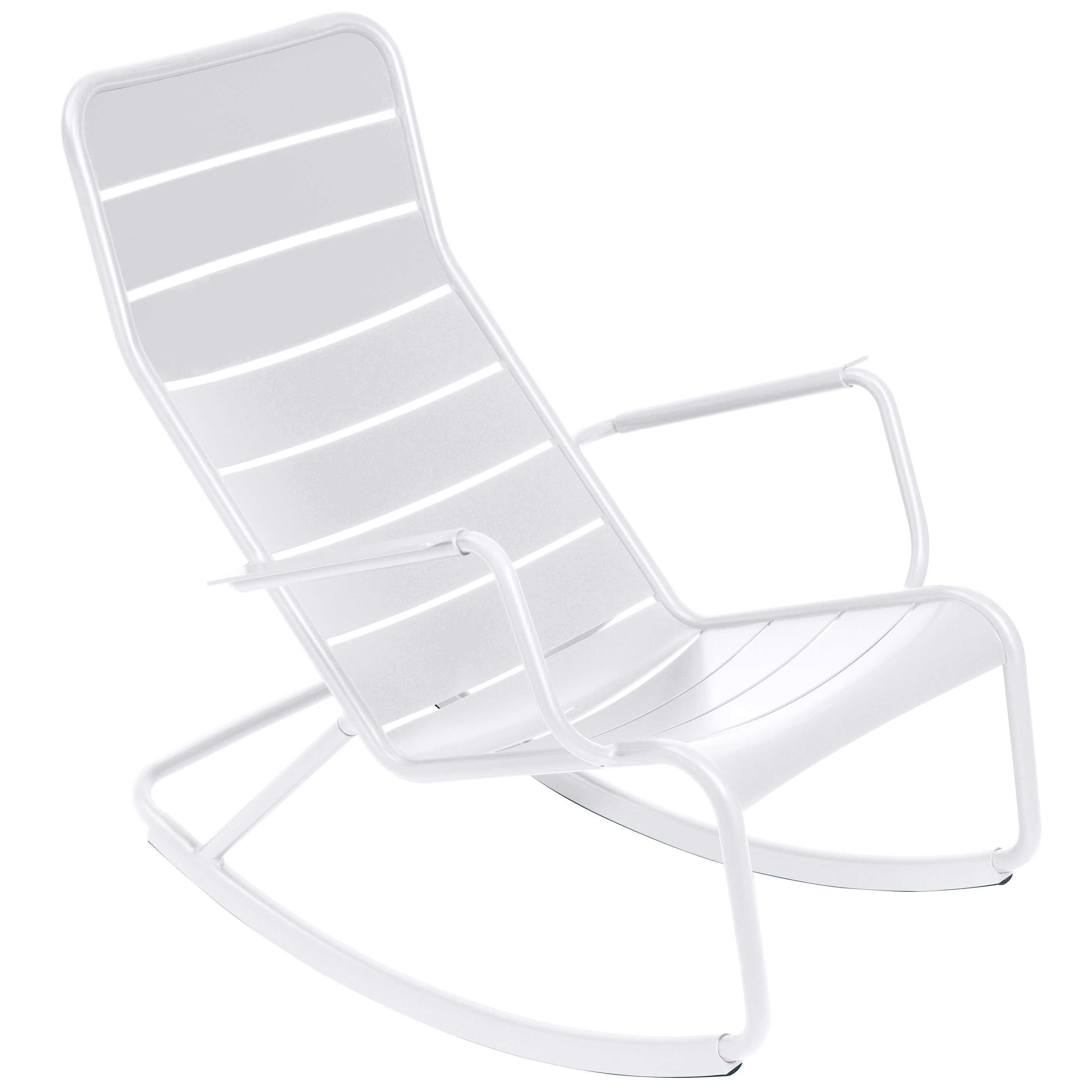 Fermob Luxembourg schommelstoel Cotton White kopen