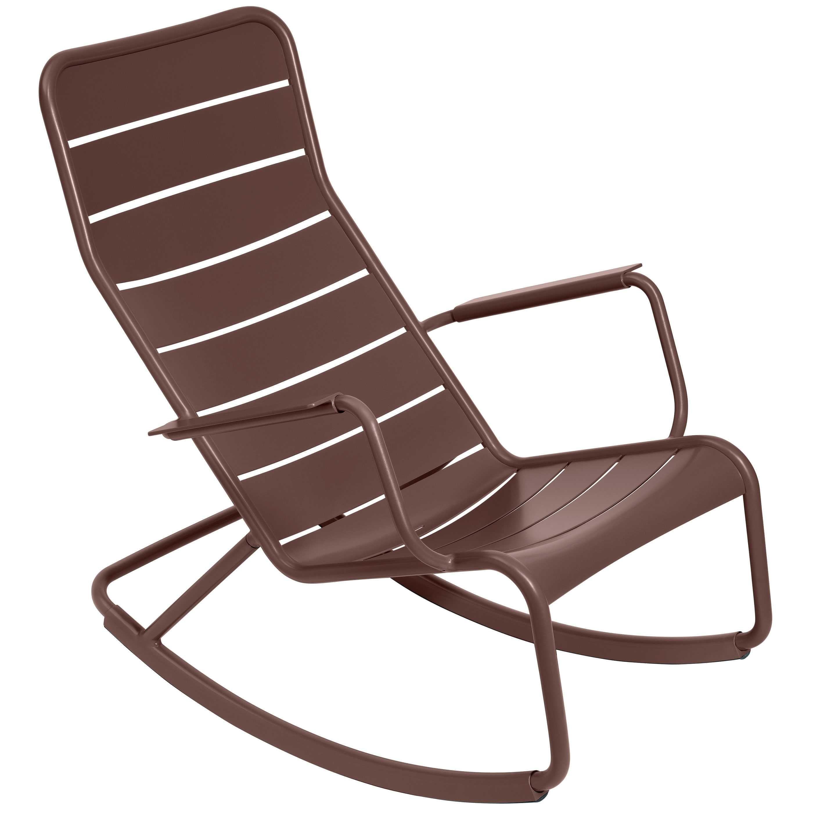 Fermob Luxembourg schommelstoel Russet kopen