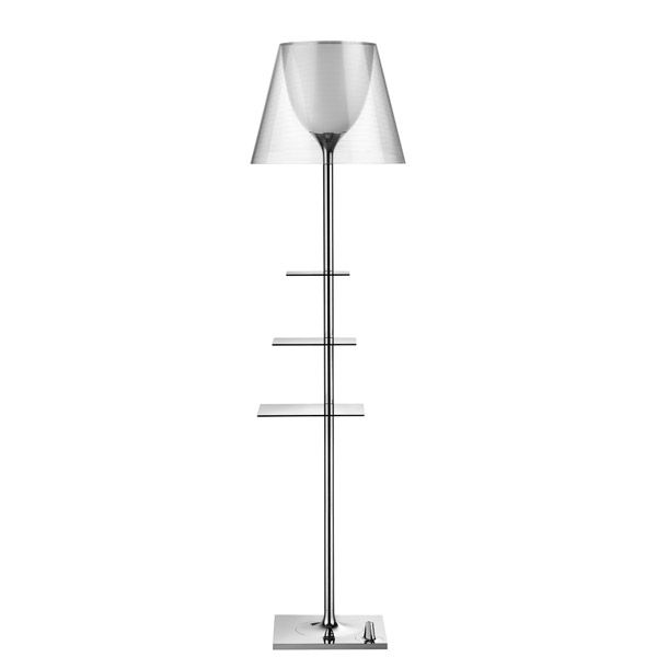 Flos Bibliotheque Nationale vloerlamp transparant