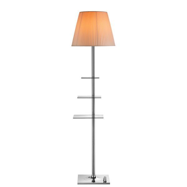 Flos Bibliotheque Nationale vloerlamp perkament