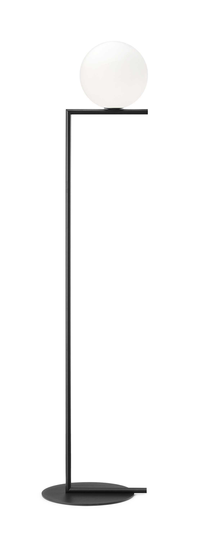 Flos IC Lights F1 vloerlamp mat zwart