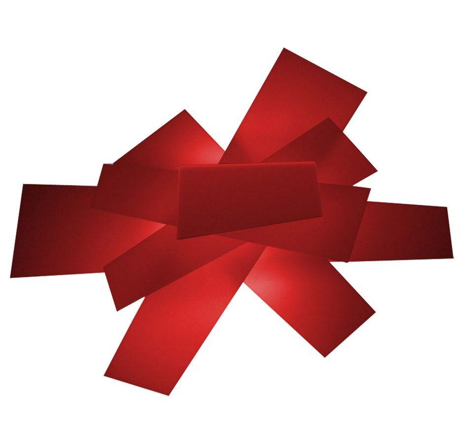Foscarini Big Bang plafondlamp rood