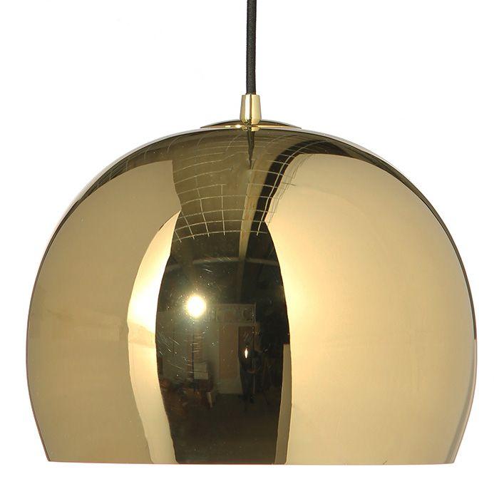 Frandsen Ball Large hanglamp messing