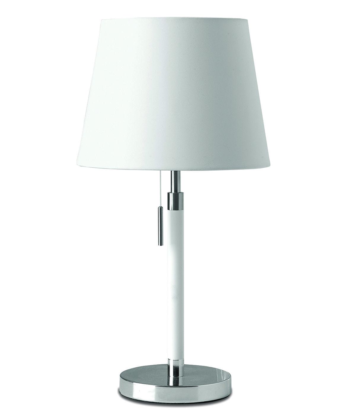 Frandsen Venice tafellamp wit chroom