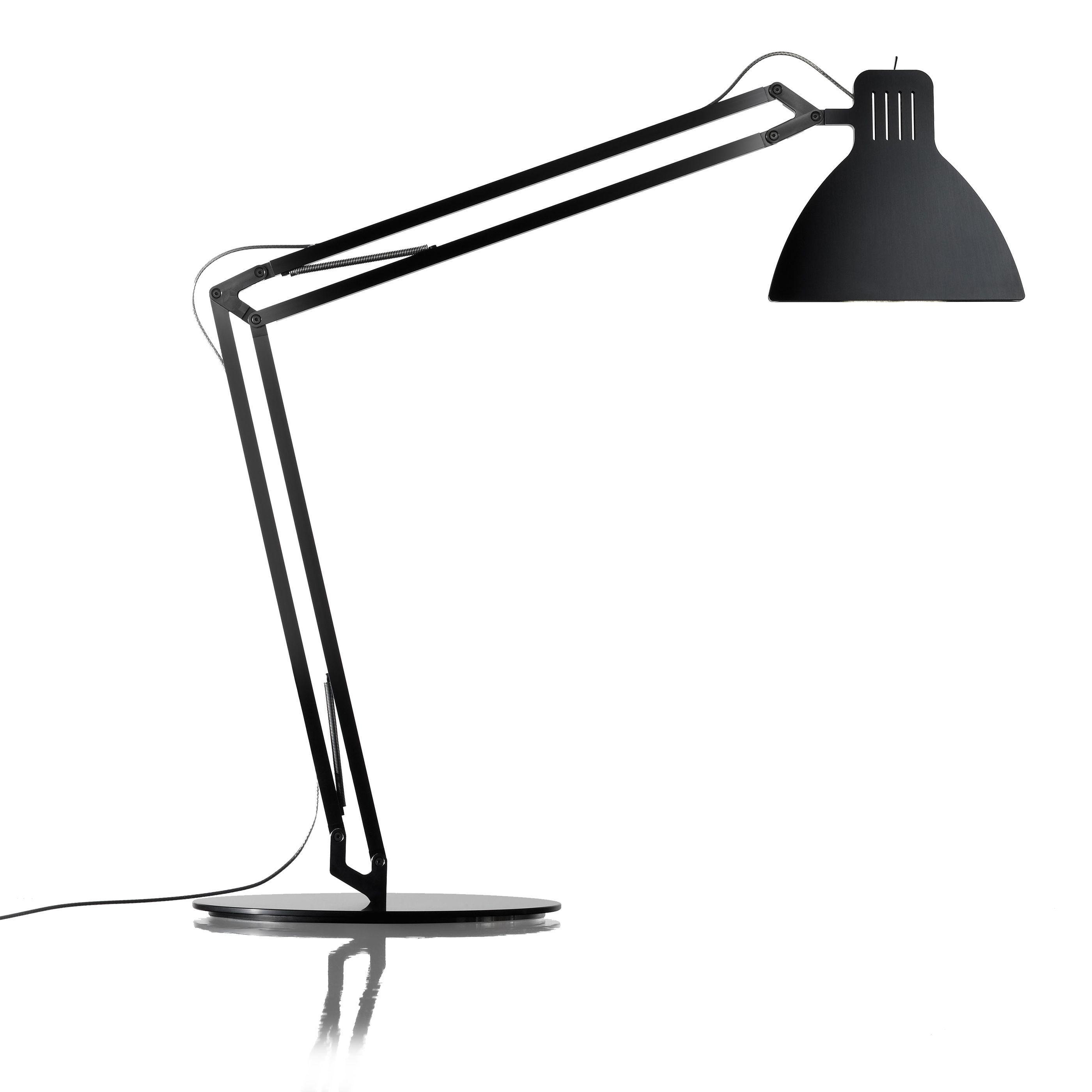 Ingo Maurer Looksoflat bureaulamp LED zwart