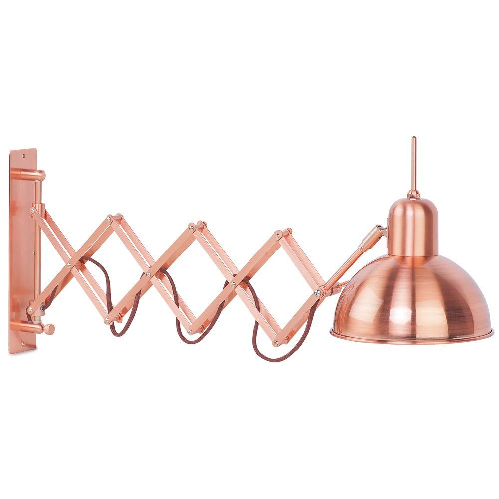 It's about Romi Aberdeen wandlamp koper