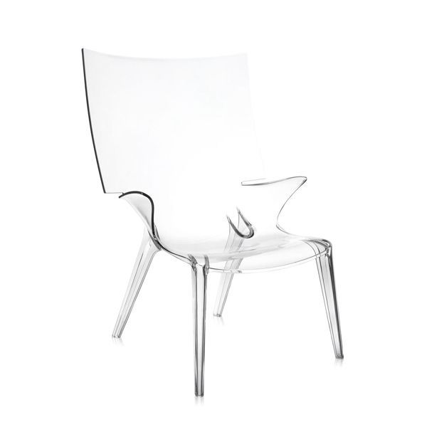 Kartell Uncle Jim fauteuil Crystal kopen