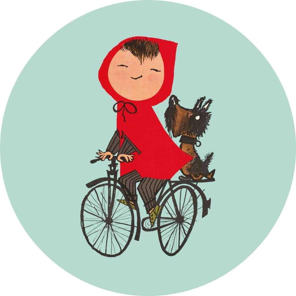 KEK Amsterdam Riding My Bike behangcirkel kopen