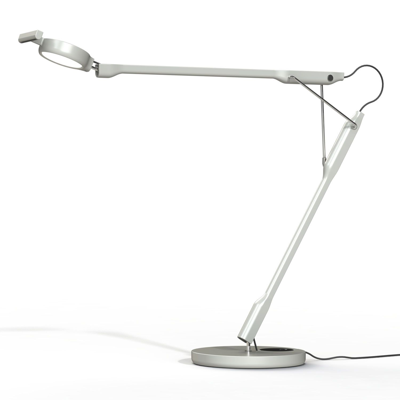 Luceplan Tivedo bureaulamp LED lichtgrijs