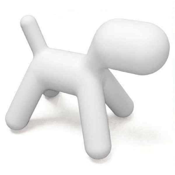 Magis Puppy kinderstoel large wit kopen
