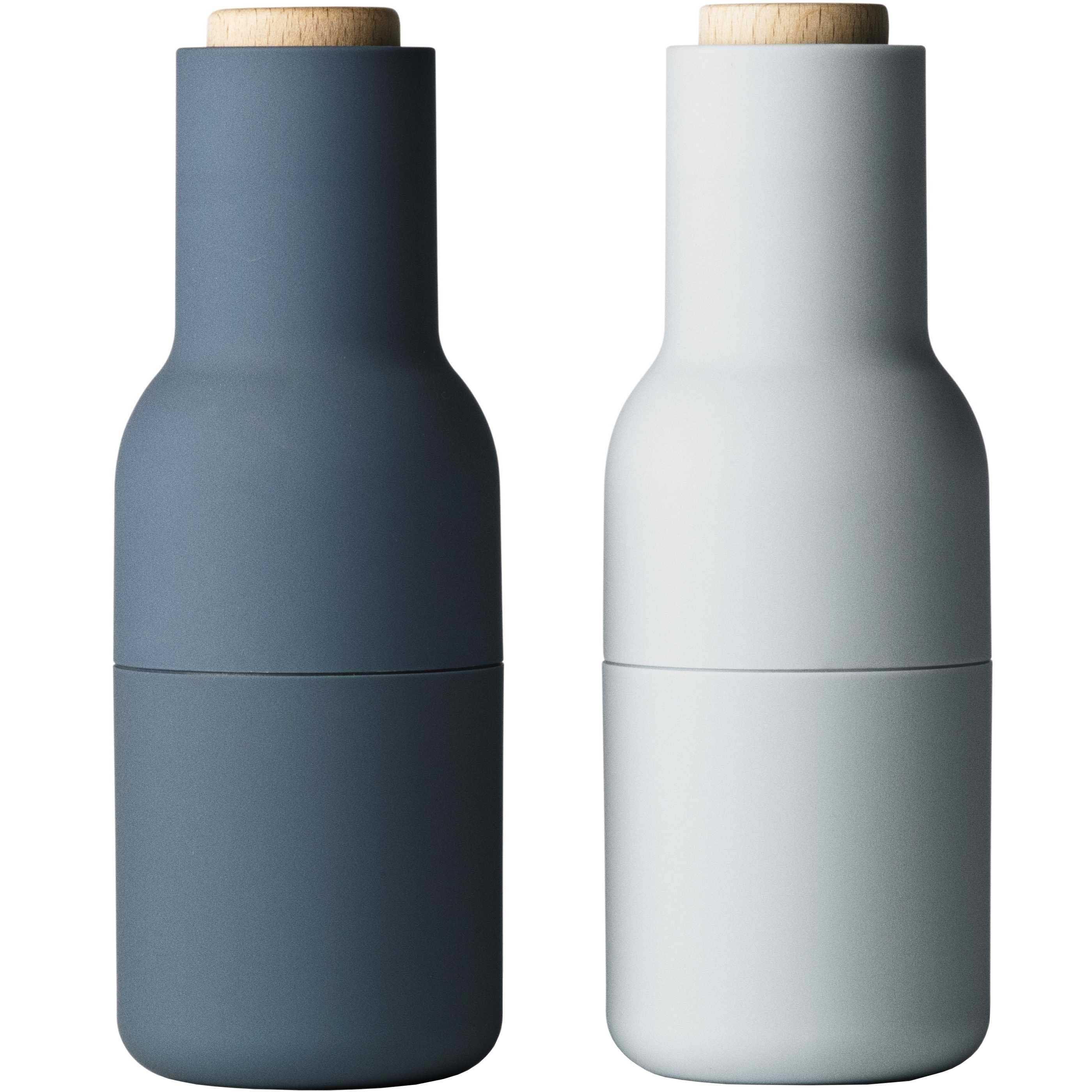 Menu Norm peper- en zoutmolen blauw