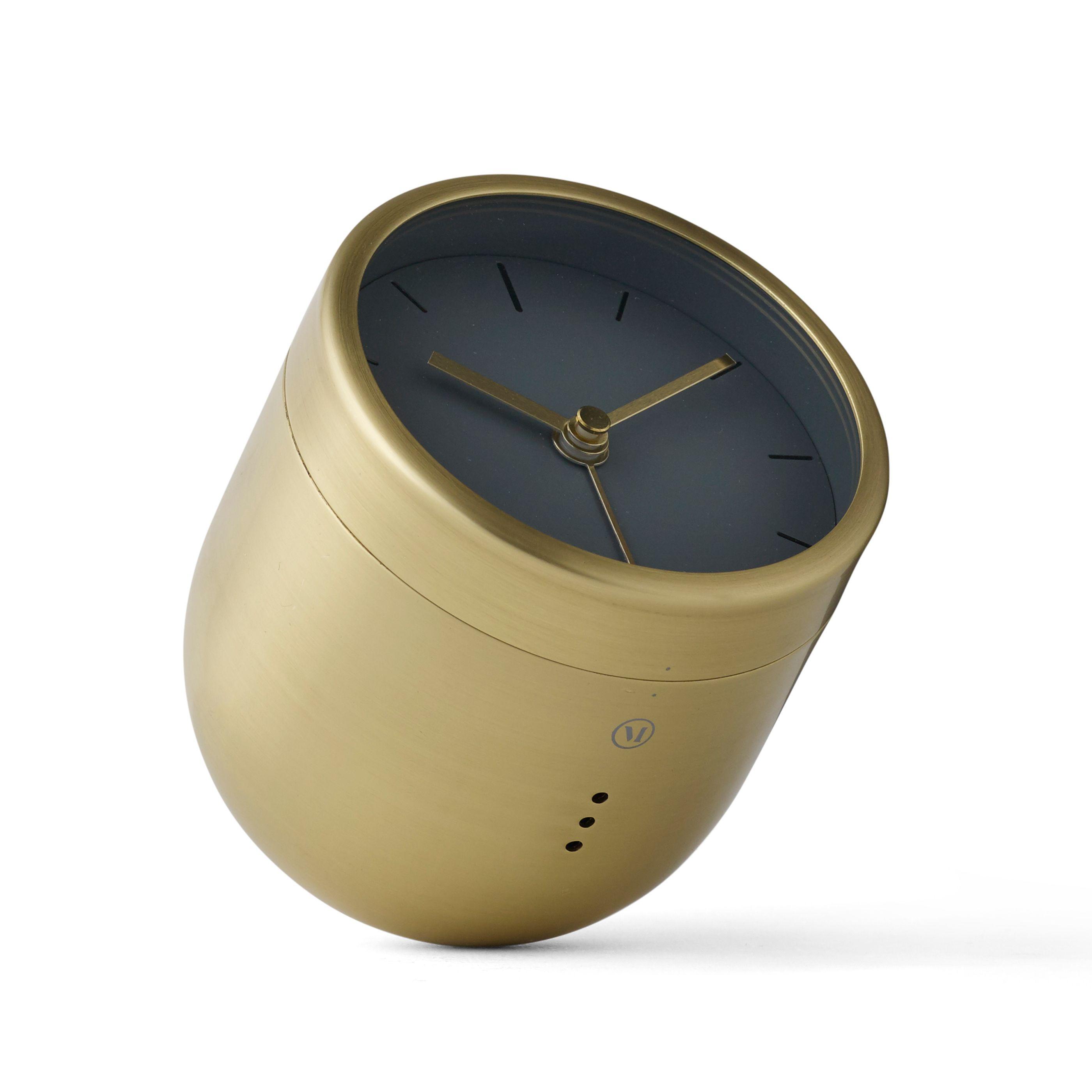 Menu Norm Tumbler Alarm wekker Brushed Brass