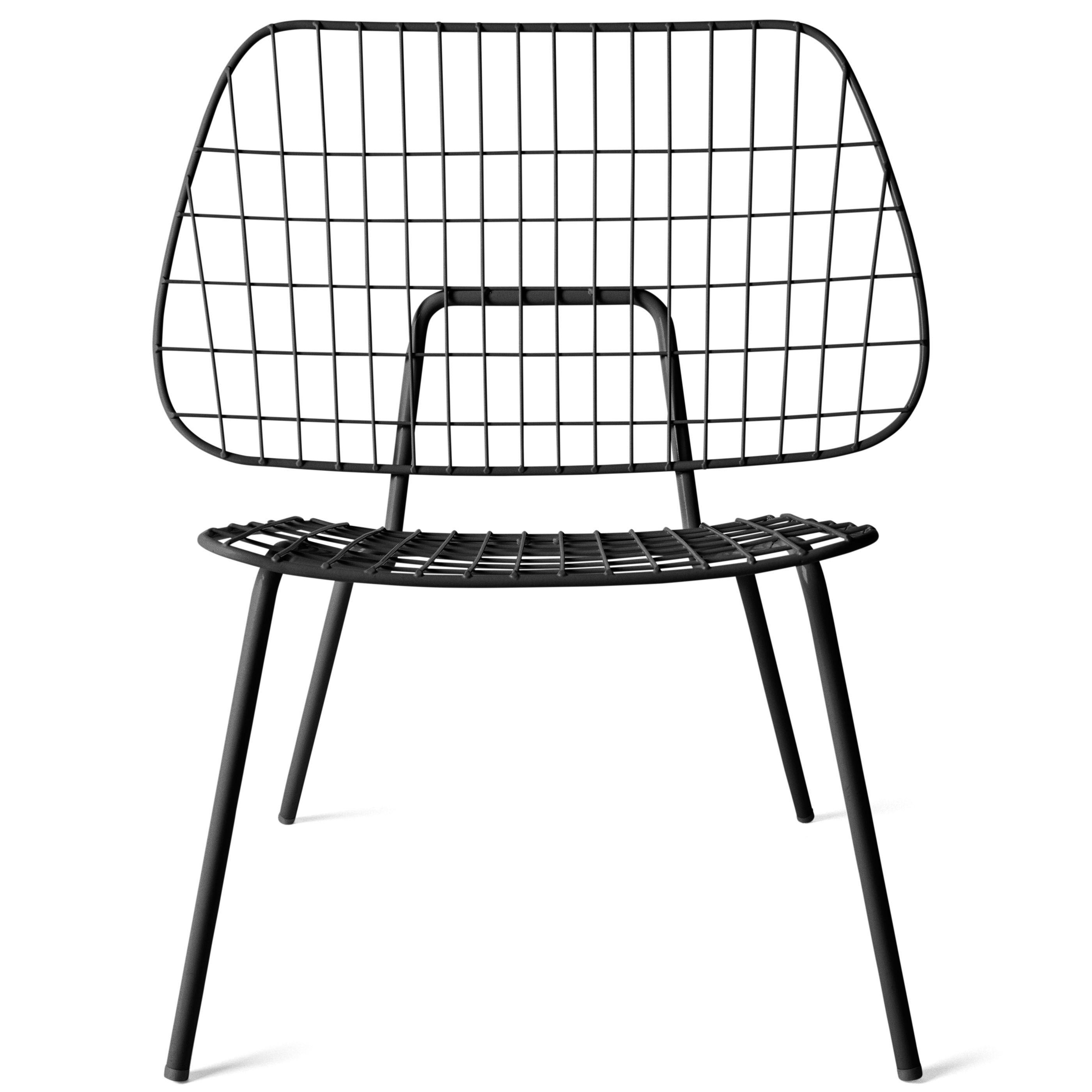 Menu WM String fauteuil zwart kopen