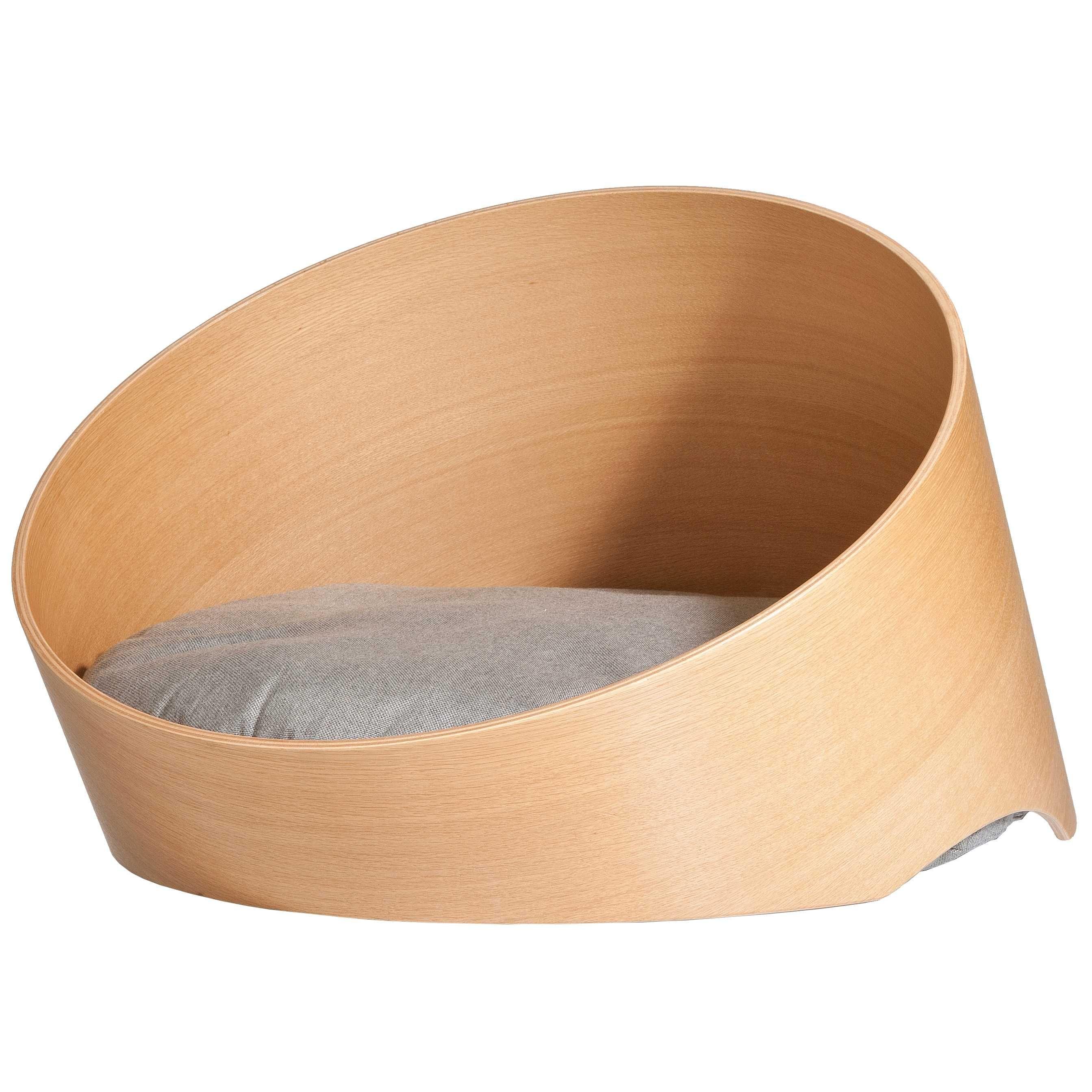 MiaCara Covo hondenmand oak/sand kopen