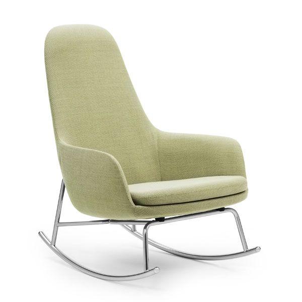 Normann Copenhagen Era Rocking Chair High schommelstoel Breeze Fusion mint