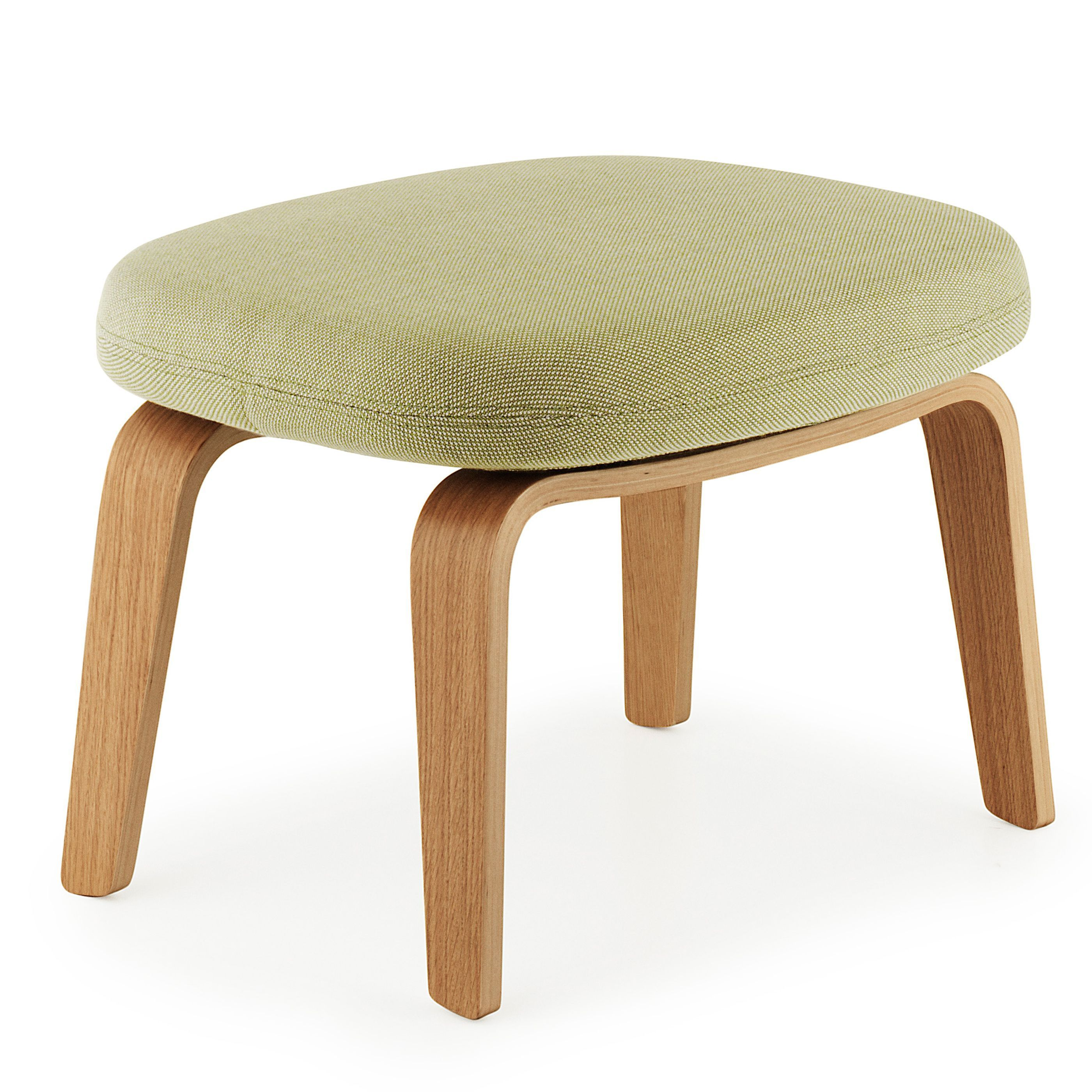 Normann Copenhagen Era Footstool voetenbank met eiken onderstel Breeze Fusion mint kopen