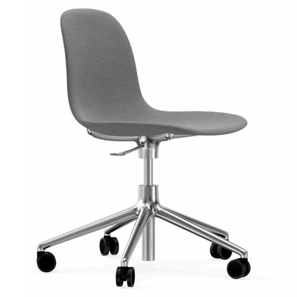 Normann Copenhagen Form Chair bureaustoel met aluminium onderstel Steelcut Trio 133 grijs kopen