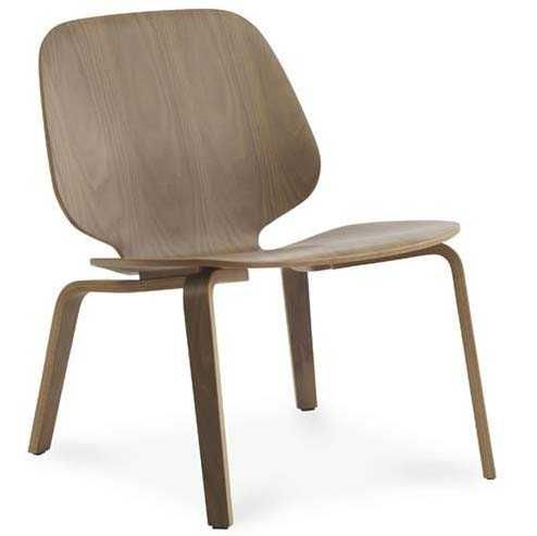 Normann Copenhagen My chair lounge stoel walnoot kopen