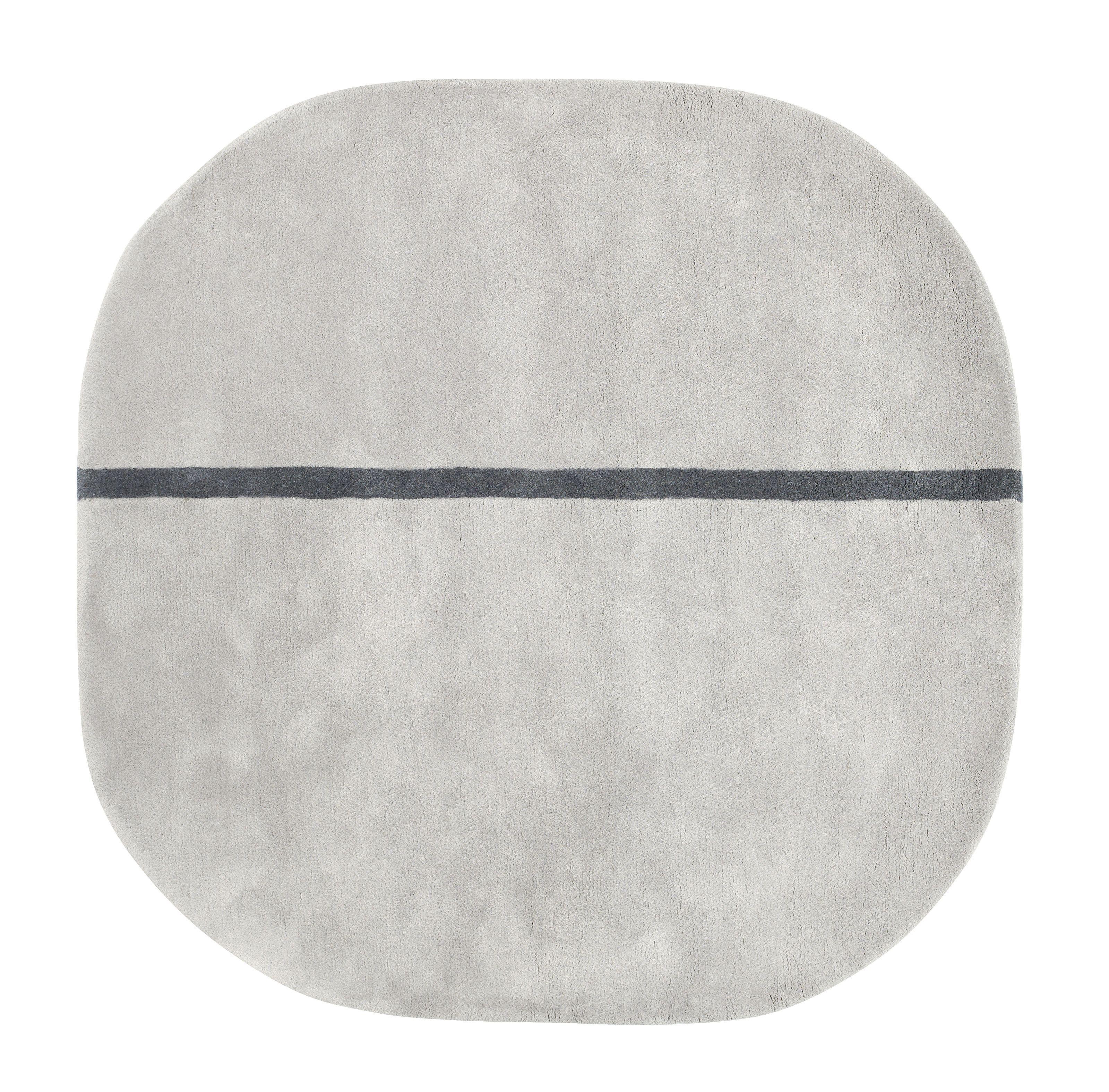 Normann Copenhagen Oona vloerkleed grijs medium 140x140 kopen