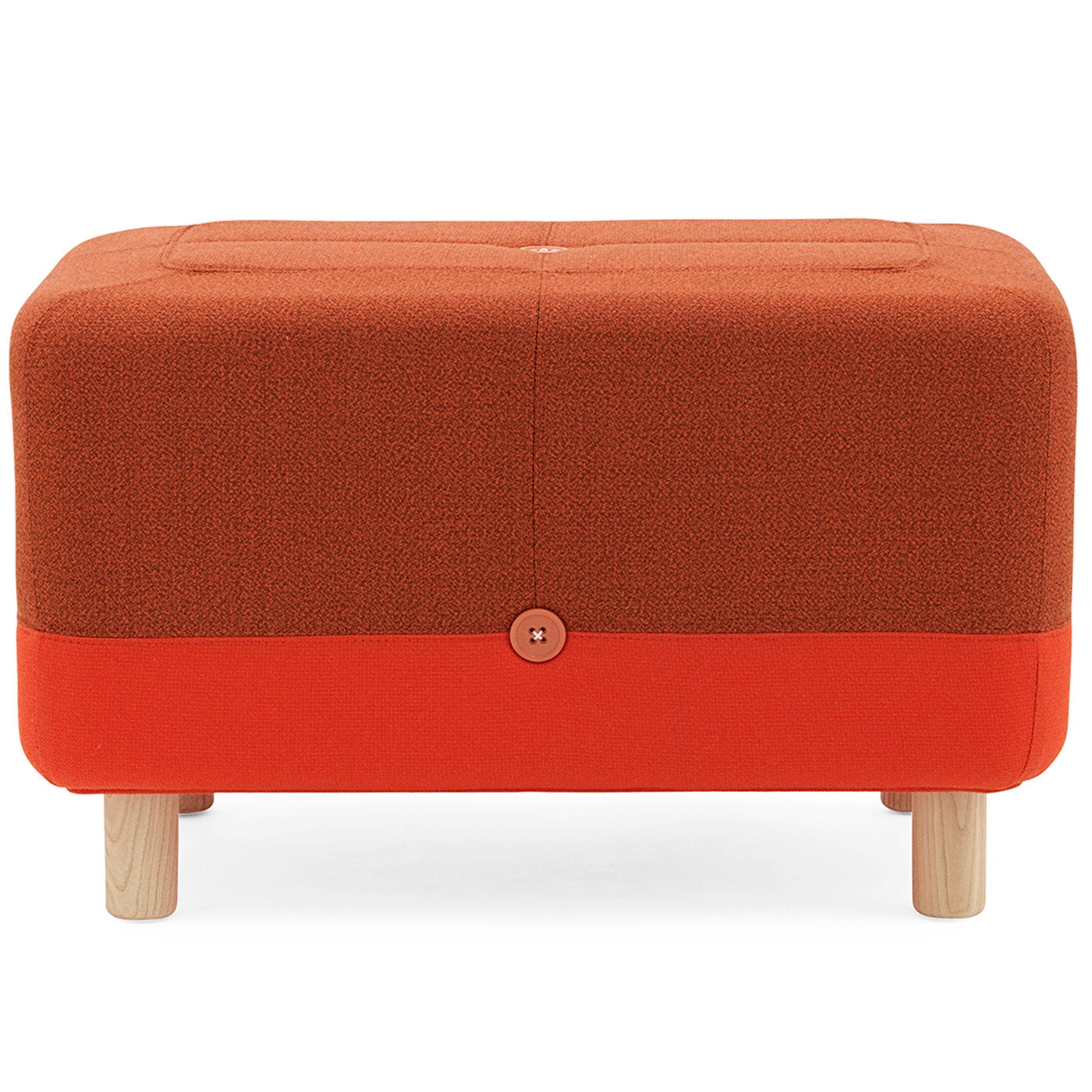 Normann Copenhagen Sumo poef oranje/rood kopen