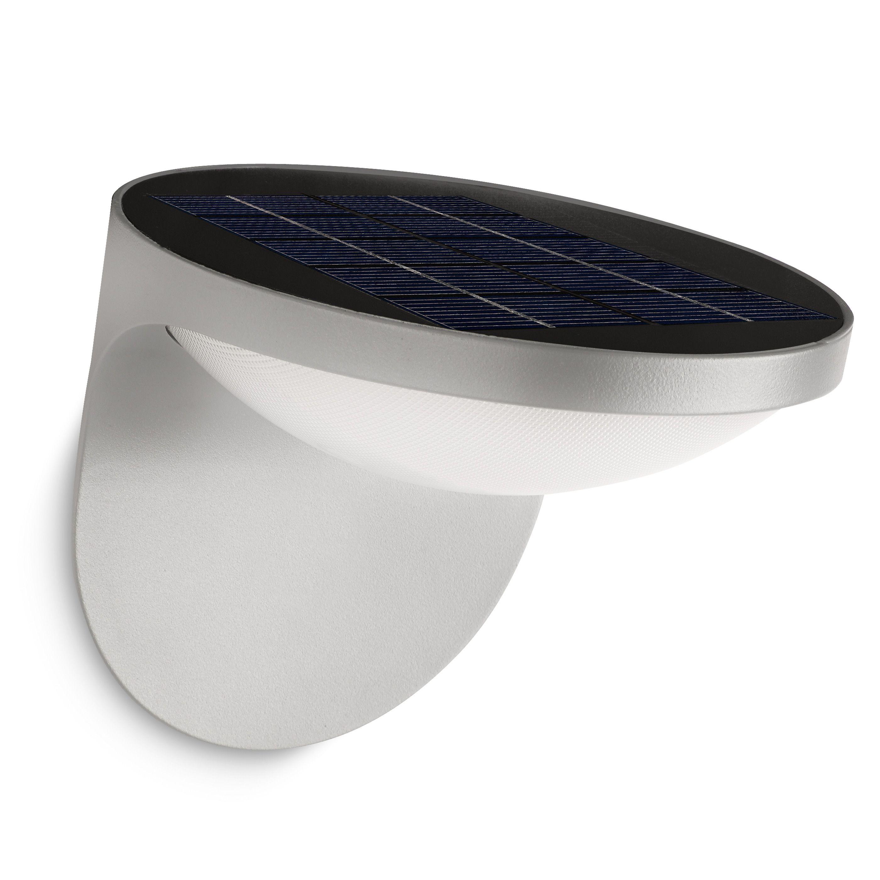 Philips Dusk buitenlamp grijs met zonnecel