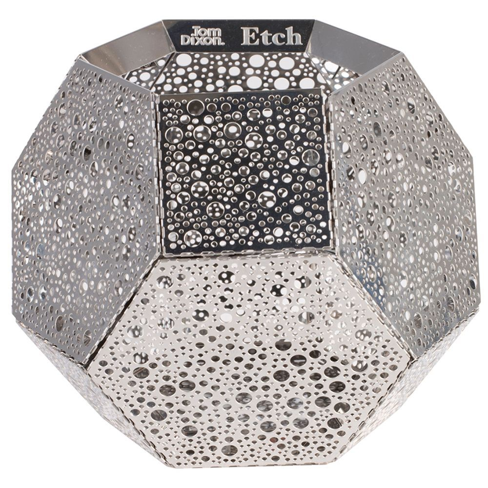 Tom Dixon Etch kandelaar Roestvrij staal kopen