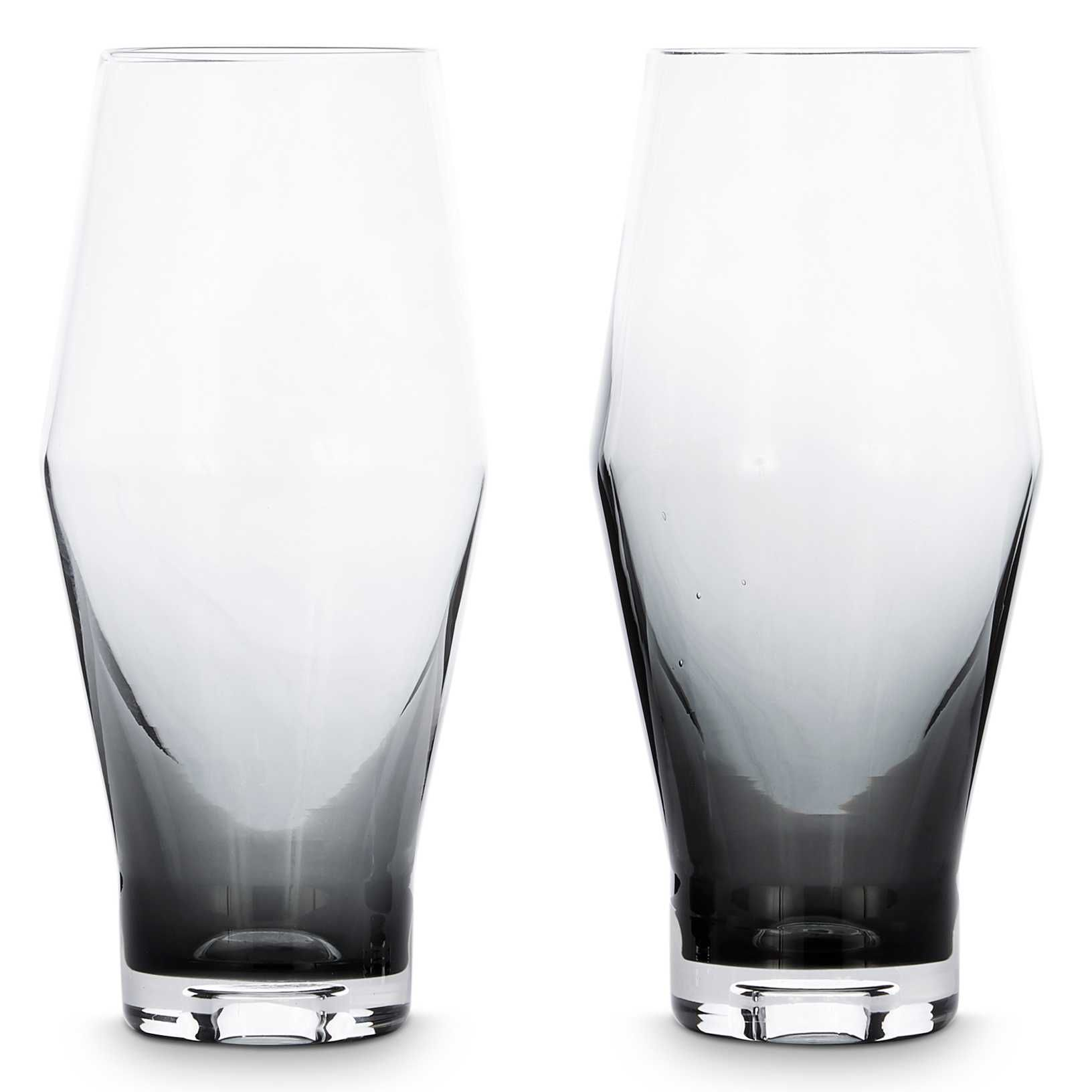 Tom Dixon Tank Beer glas set van 2 zwart kopen