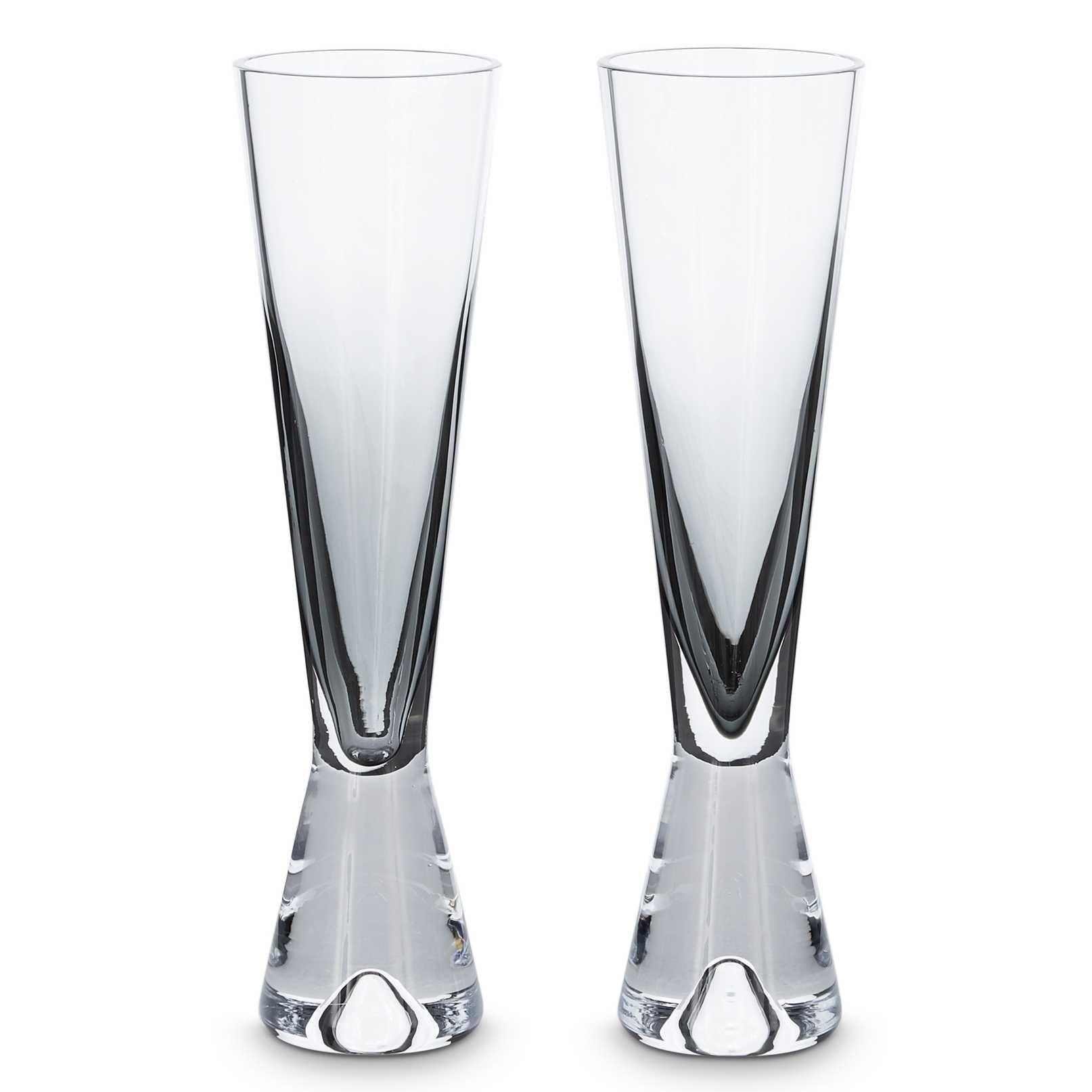 Tom Dixon Tank Champagne glas set van 2 zwart kopen