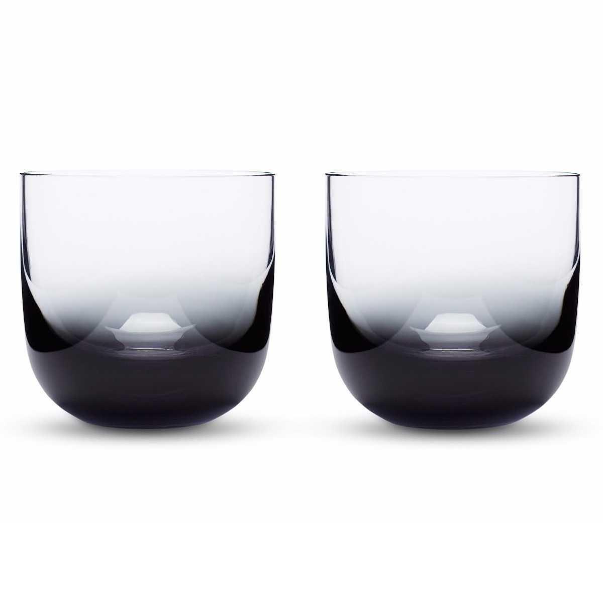 Tom Dixon Tank Whiskey glas set van 2 zwart kopen