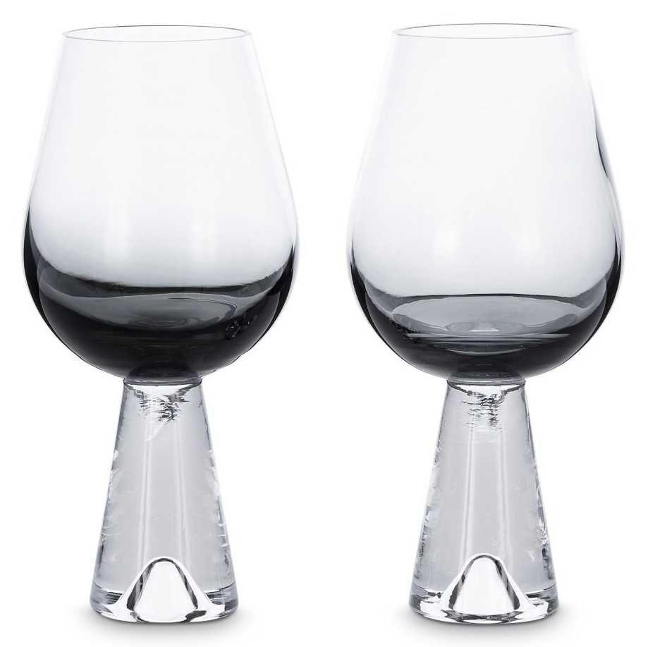 Tom Dixon Tank Wine glas set van 2 zwart kopen