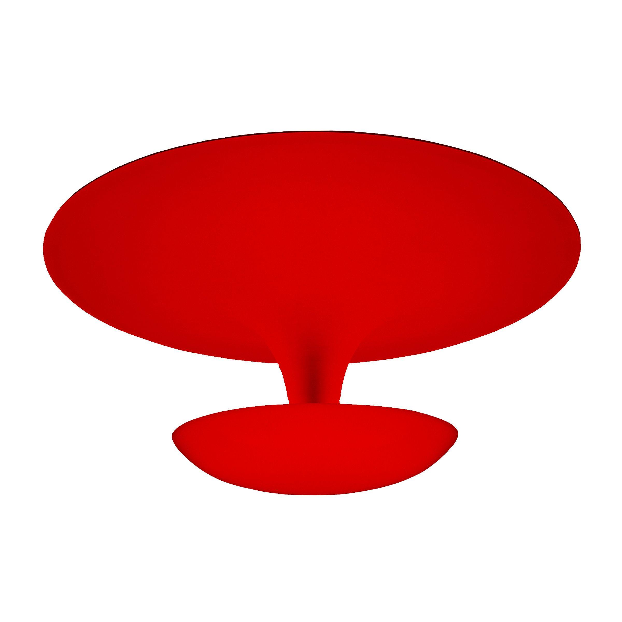 Vibia Funnel plafondlamp small rood