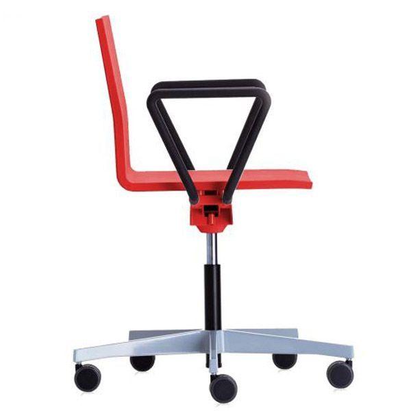 Vitra .04 bureaustoel rood kopen
