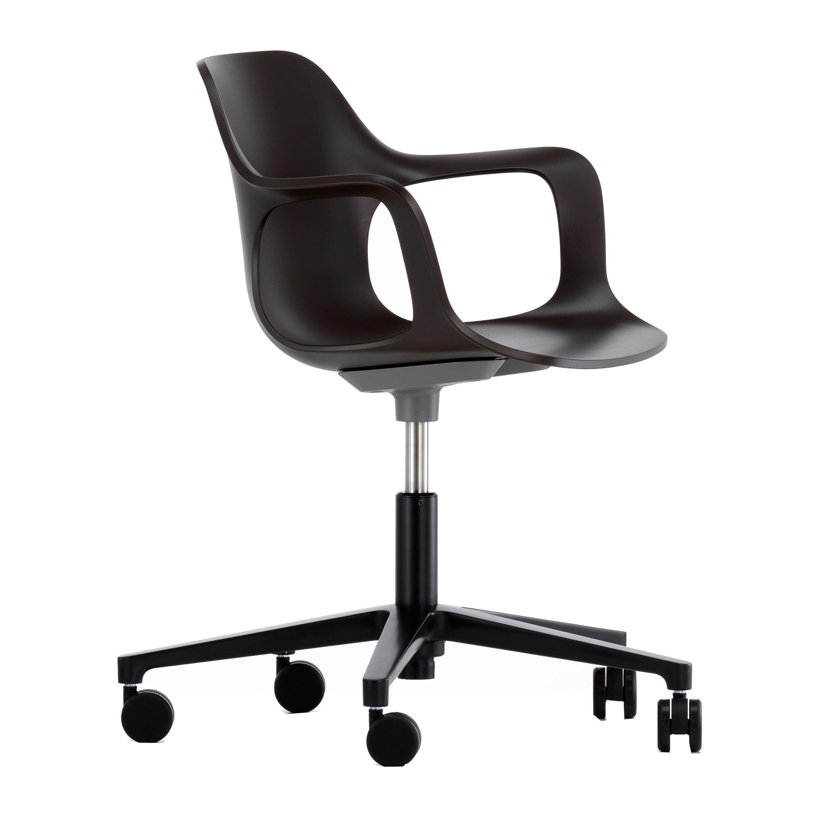 Vitra Hal Armchair Studio bureaustoel zwart kopen